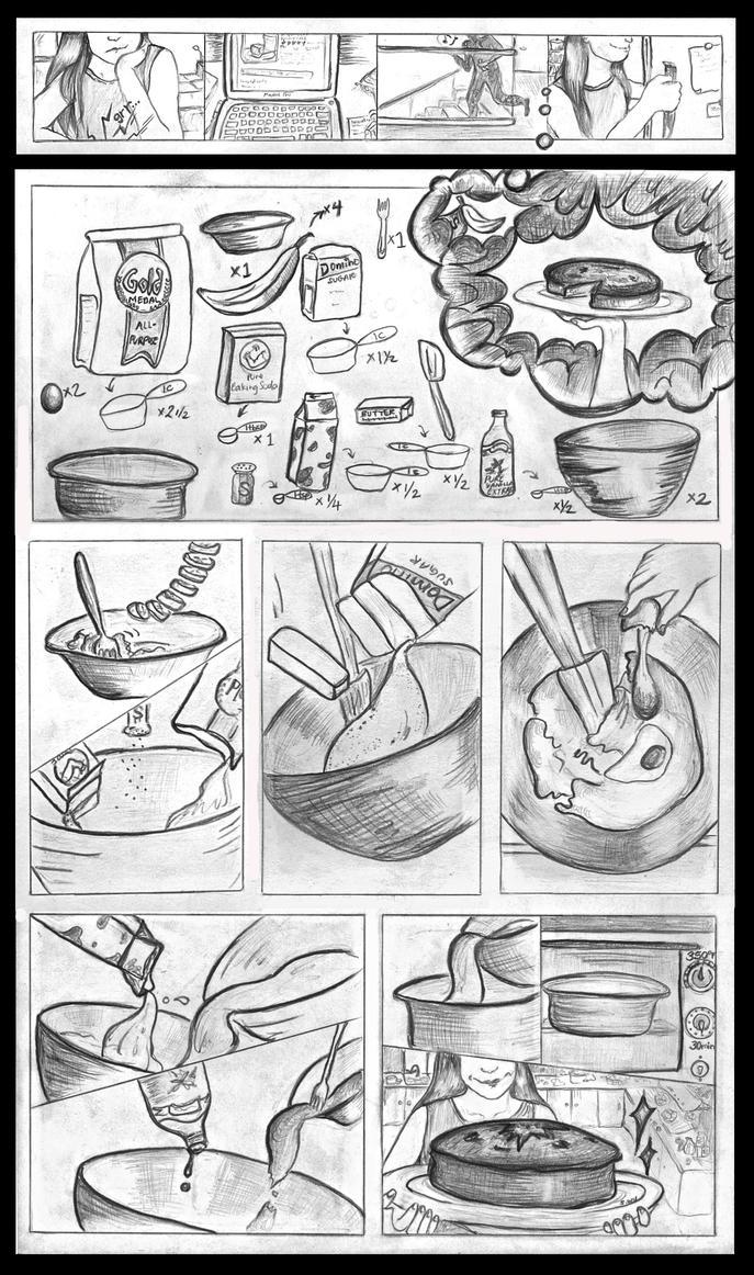 Banana cake recipe by savannahwu