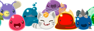 Slime Rancher Stickers