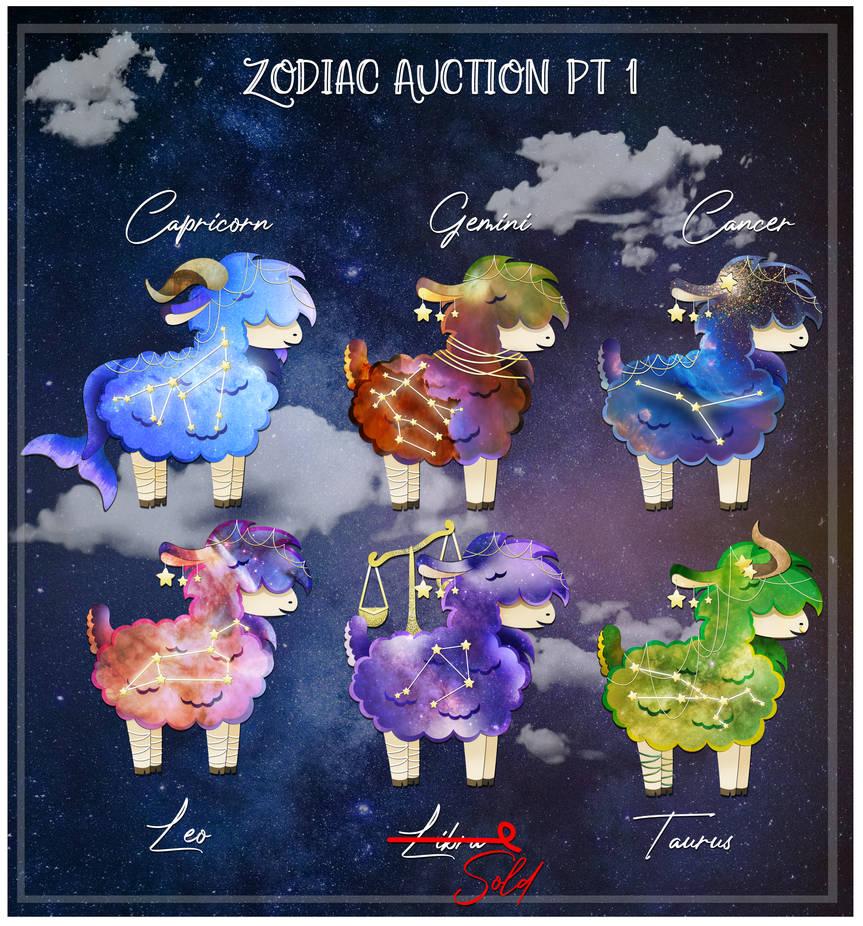 Zodiac Alpaca Auction Pt. 1 - OPEN
