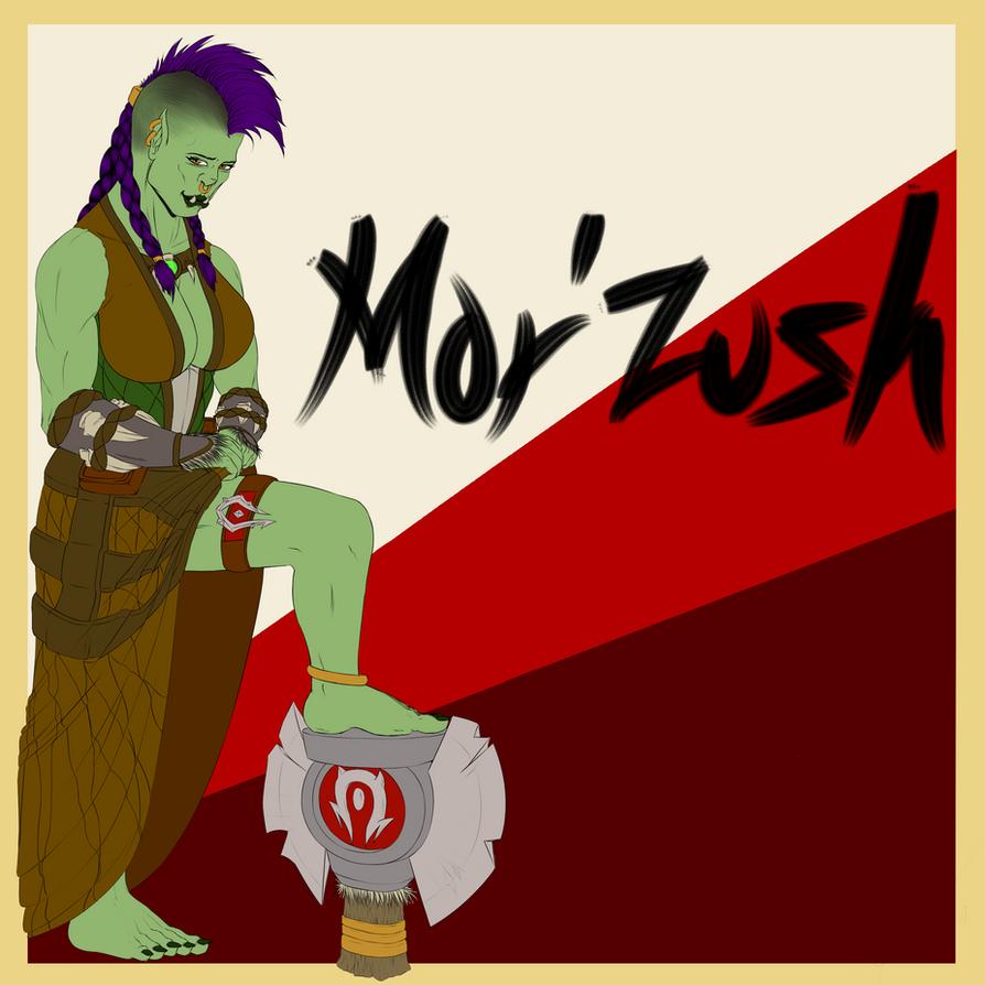 Mor'zush: Base Colours by Delamontre