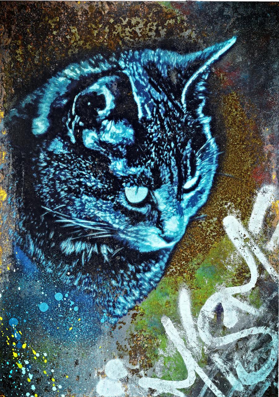 MeowMeow by snikstencilstuff