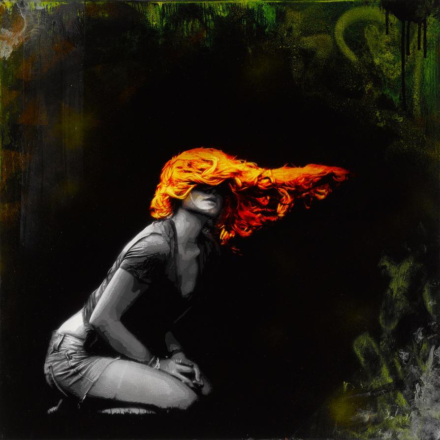 Yesterdays Breeze - Fire by snikstencilstuff