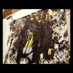 What your soul sings - London hit. by snikstencilstuff