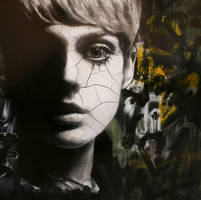 Cracking up/falling apart (full shot) by snikstencilstuff