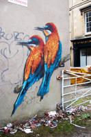 Winged Fire by snikstencilstuff
