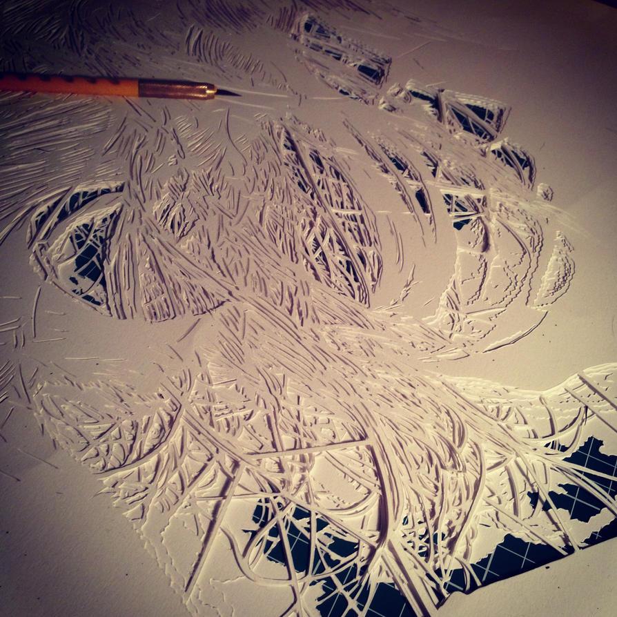 6 layers cut by snikstencilstuff