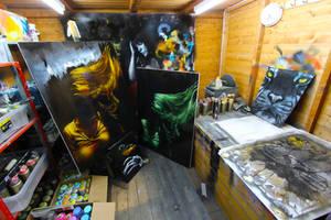 Studio by snikstencilstuff