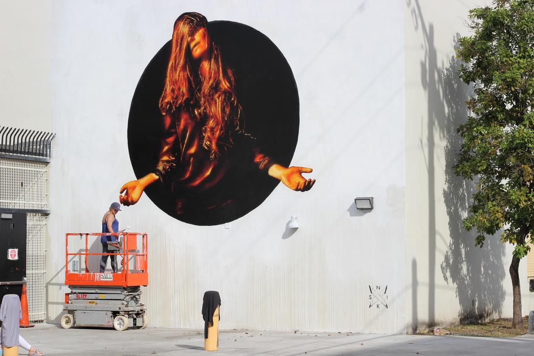 Fading glow - Wynwood, Miami. 2015 by snikstencilstuff