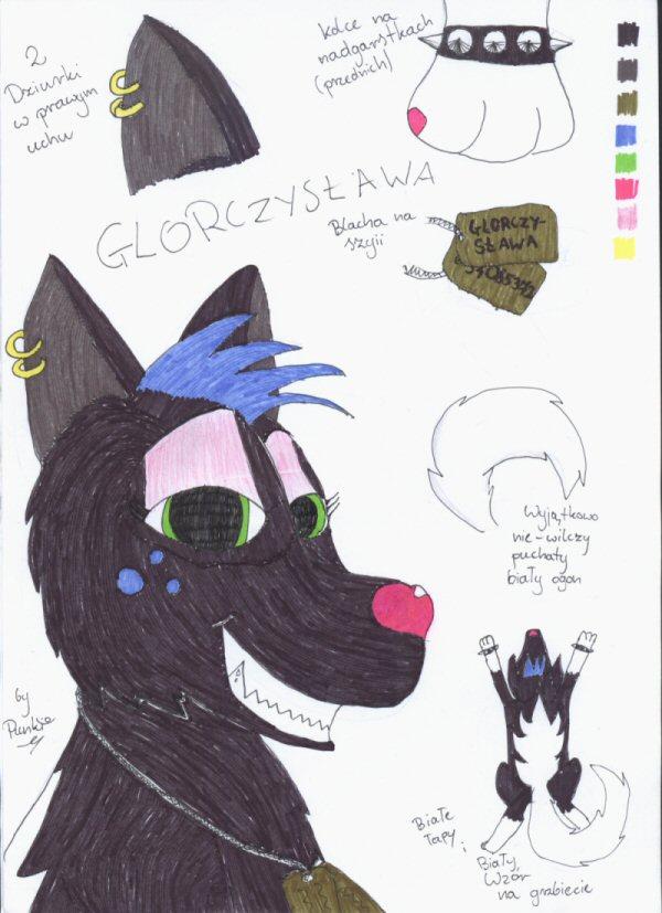 Glorczyslawa Ref Sheet by punki123
