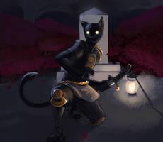 legendary cat samurai