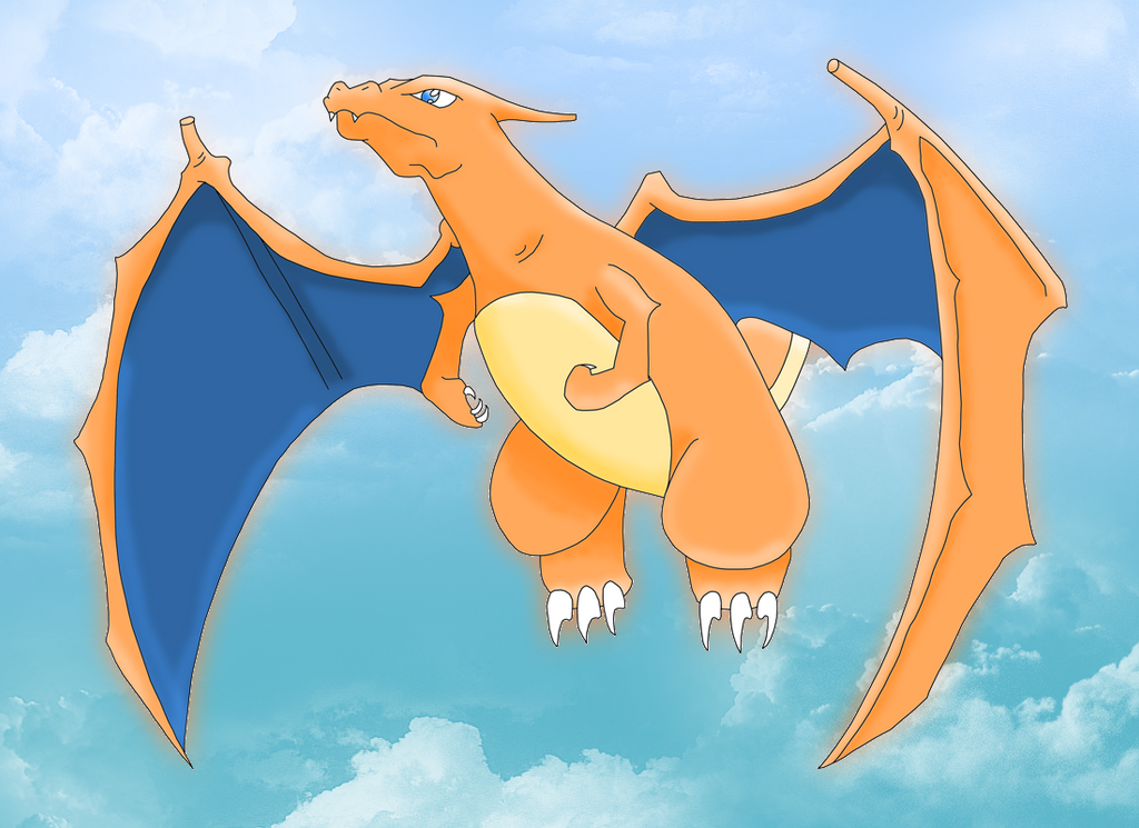 The gallery for --> Charizard Flying Anime
