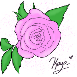 Speed Paint: Rose Gift by bluesonic1