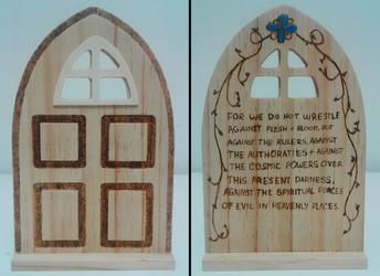 Wooden Door by bluesonic1