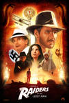 Raiders of the Lost Ark Poster - UPDATED