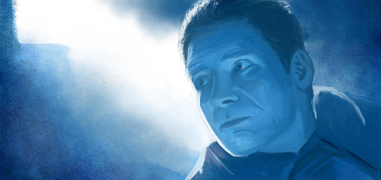 Blade Runner Oil Paint Test by brockchandler