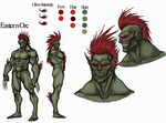 Eastern Orc Reference Sheet