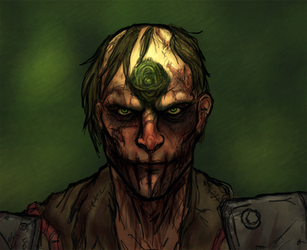 Fallout 4 Character: Hyde - Toxic Jesus by OnHolyServiceBound