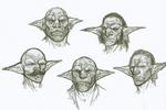Goblin Face archetype Sketches