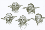Goblin Face archetype Sketches