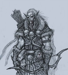 Pale Orc Hunter by OnHolyServiceBound