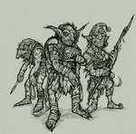 Goblin Encounter - On The Shoulders of Heroes