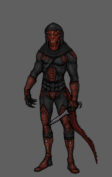 Caligus the Red - Skyrim - Commission