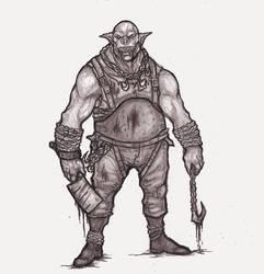 Ogre Runt by OnHolyServiceBound