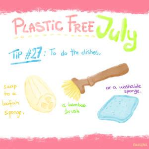 Plastic Free July 27th
