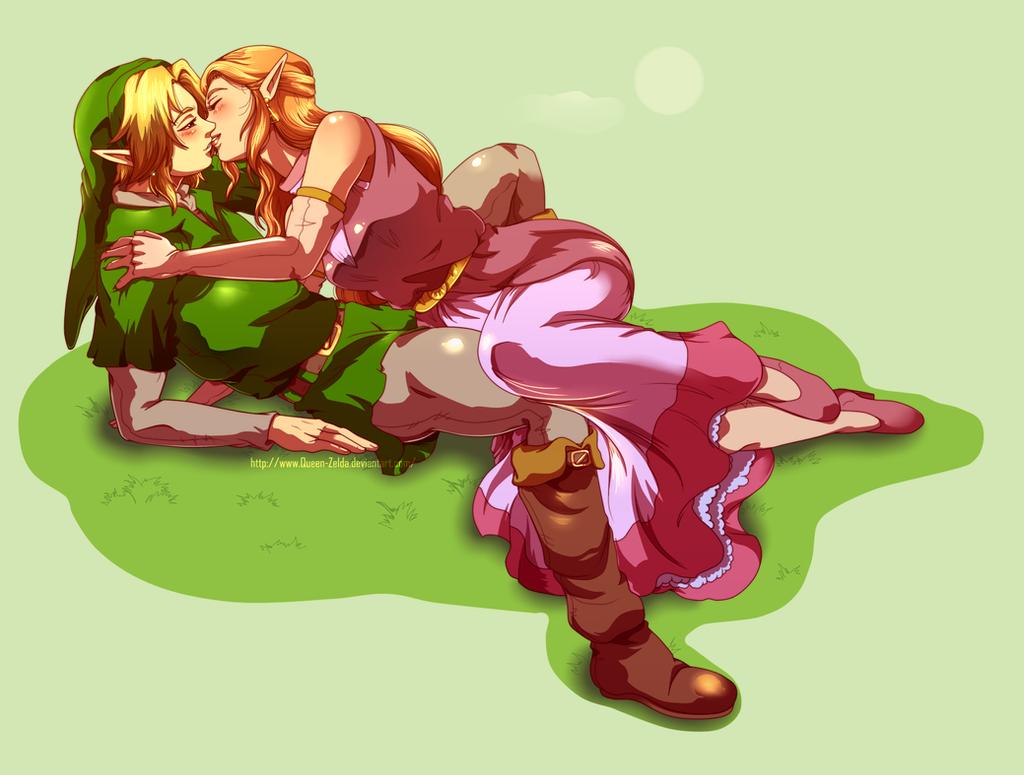 Just kiss me by Queen-Zelda
