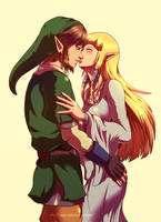 The way i love you (Color) by Queen-Zelda