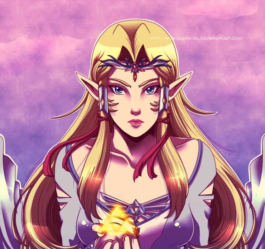 The battle of the Goddess by Queen-Zelda