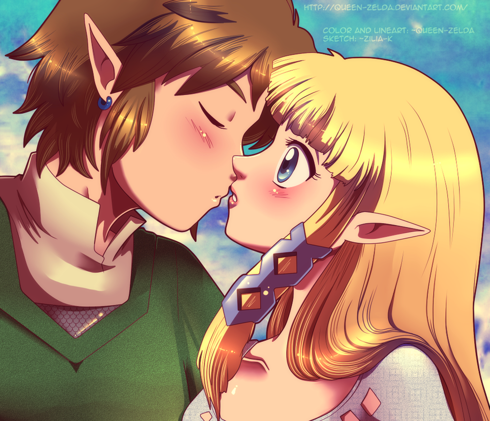 Can i kiss you? by Queen-Zelda