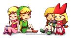 Green and Pink by Queen-Zelda
