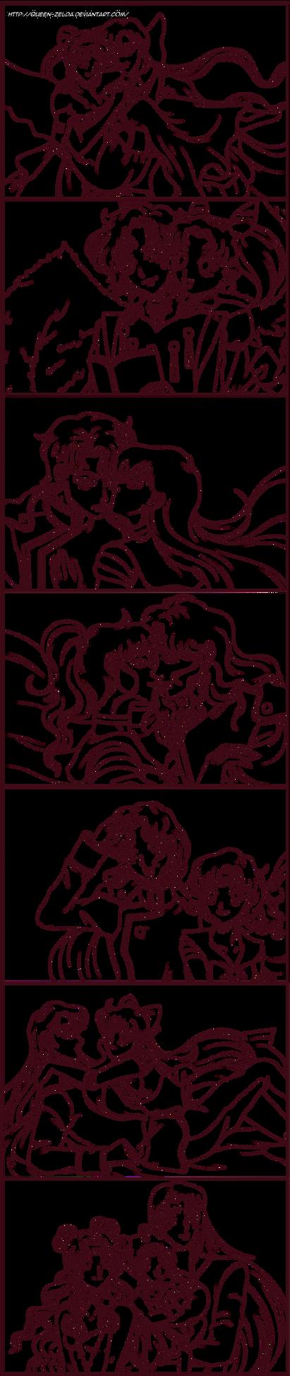 Crescent love by Queen-Zelda