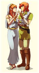 A saint love (Color) by Queen-Zelda