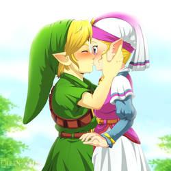 Bold boy by Queen-Zelda
