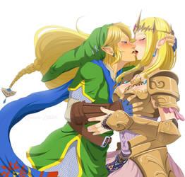 Erotic warrior by Queen-Zelda