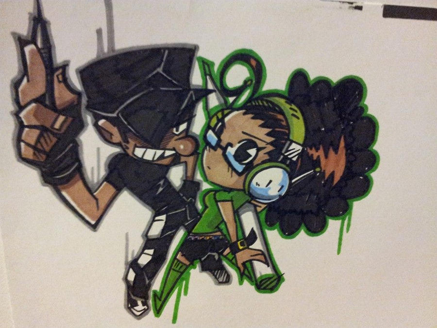 Chip n DJ Now in Colour!