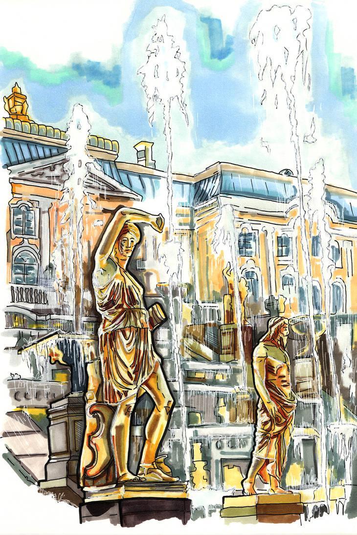 Peterhof by Cranash64