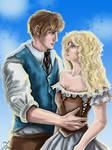 Raffle prize - Farlan and Tamara by Cranash64