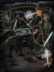 Rifles and swords (2020 version) by Cranash64