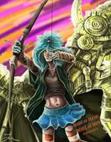MFMI characters - Orika Readnare by Cranash64