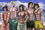 Summer boys by Cranash64