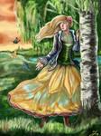 Butterflies (OC pageant 2021 theme 2) by Cranash64