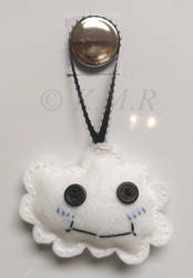 Felt Cloud Plush Ornament
