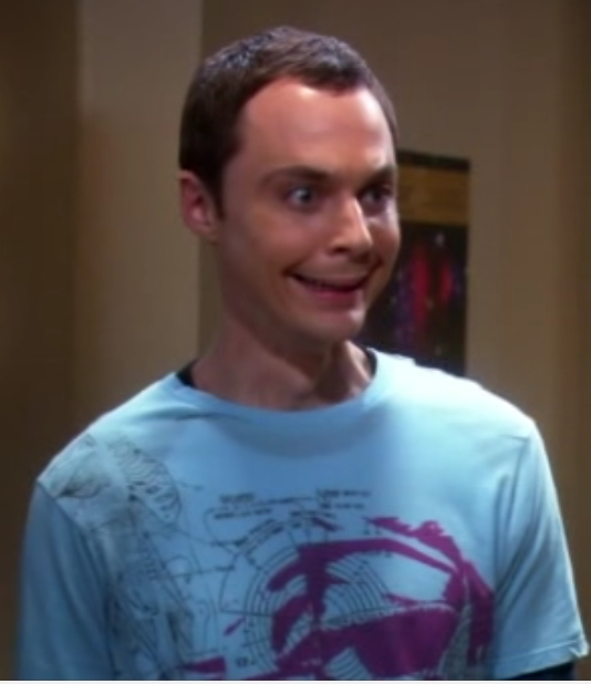 May The 4th Be With You Sheldon Cooper: Sheldon's Smile By Demaniore On DeviantArt