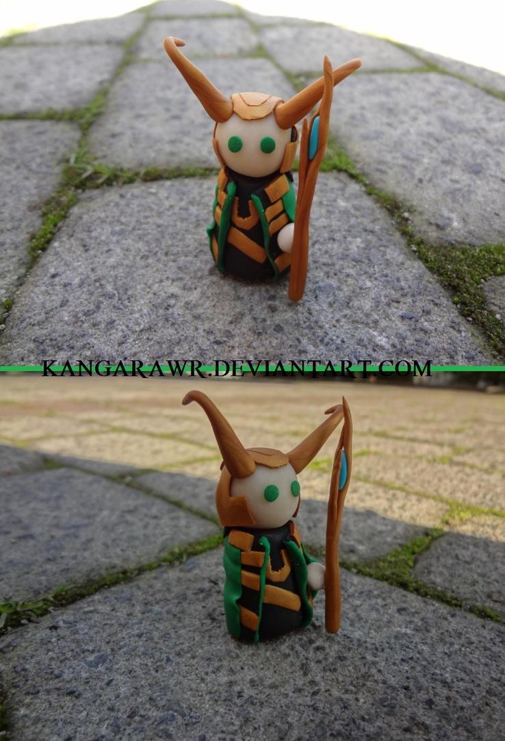 Loki Laufeyson by kangarawr