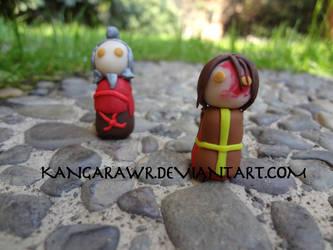 Zuko and Iroh by kangarawr