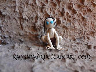 Gollum/Smeagol by kangarawr