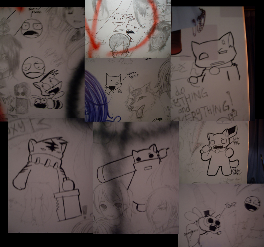 the graffiti wall no one saw.. by NCH85
